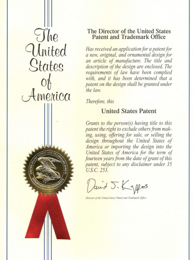 Wings United States Patent